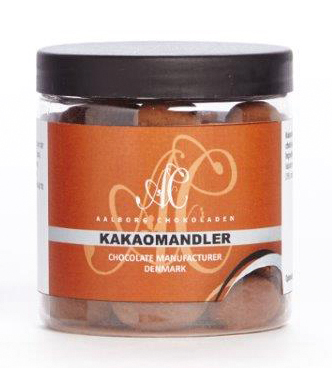 Aalborg chokoladen Kakaomandler