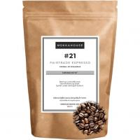 21 Fairtrade espresso morkristet