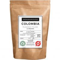 Ristede kaffebonner Colombia planadas tolima