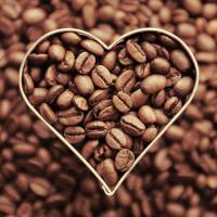 kaffe hjerte
