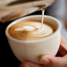 Latte Art billede