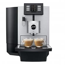 Jura X8 + kaffe & udstyr - til det mellemstore kontor  billede