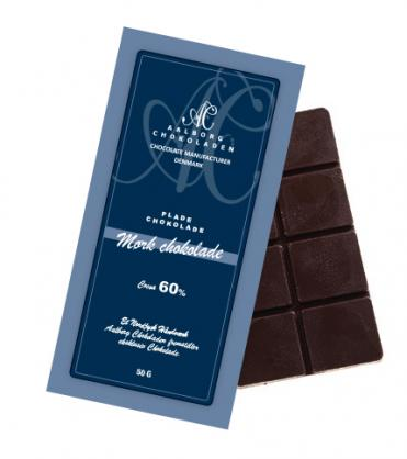 Aalborg chokoladen mork chokolade 60