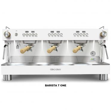 Ascaso barista t one 3GR white wood
