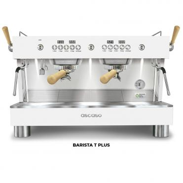 Ascaso barista t plus 2GR white wood