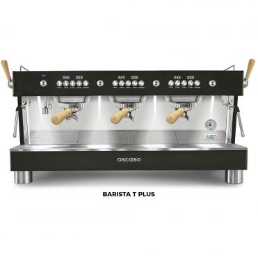 Ascaso barista t plus 3GR black wood
