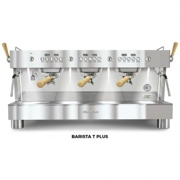 Ascaso barista t plus 3GR full inox wood