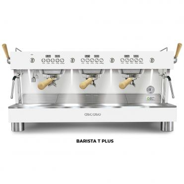 Ascaso barista t plus 3GR white wood