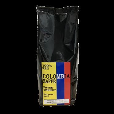 Colombia frysetorret kaffe