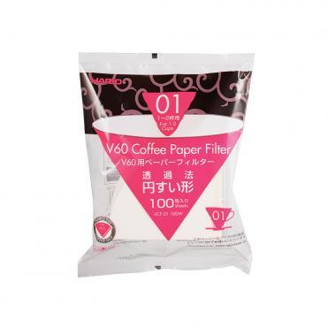 Hario papir filter 1 cup 100stk VCF 01 100W