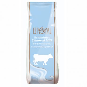 Le royal granulated skimmed milk