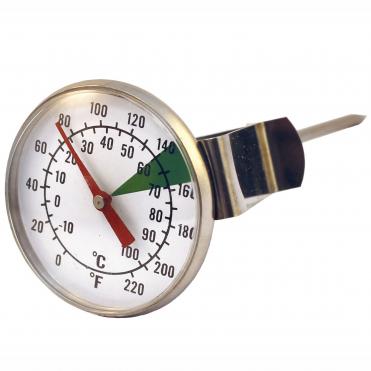 Maelketermometer med clips