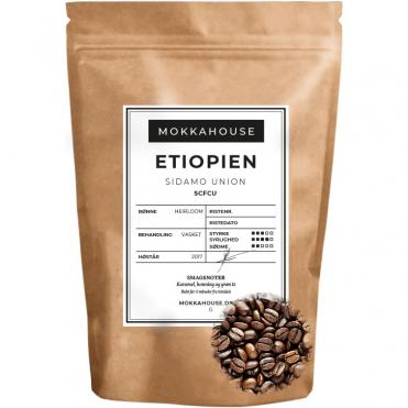 Ristede kaffebonner Etiopien Sidamo Union SCFCU2