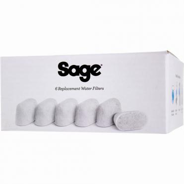 Sage replacement filters 6 stk